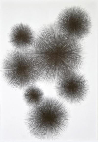 Crayon sur paiper, 30x40cm