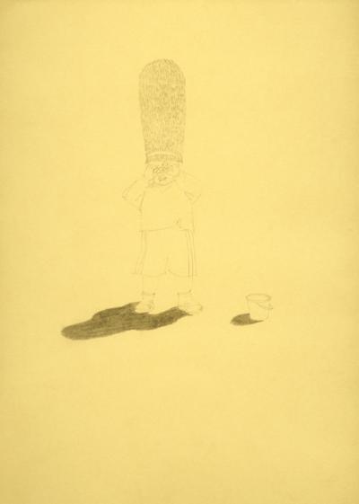 Crayon sur papier, 21x30cm