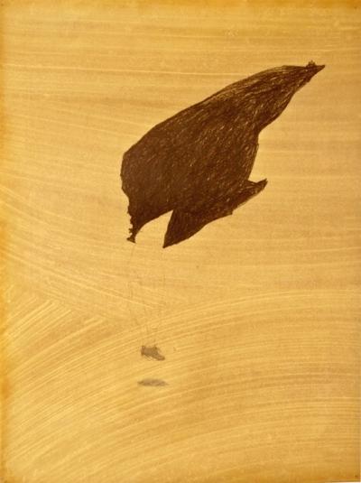 Crayon sur papier huilé, 58x78cm