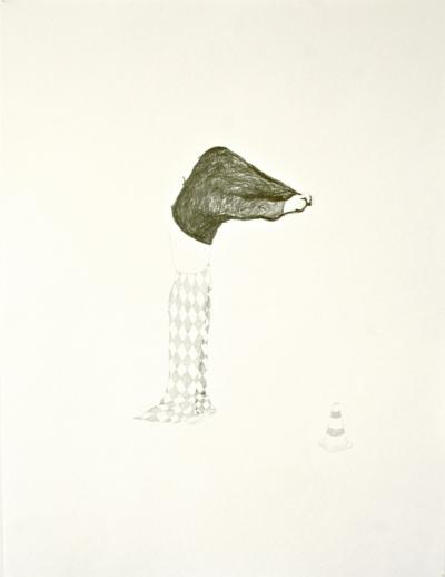 Crayon sur papier, 50x65cm